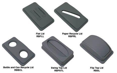 Shark Bin Flat Lid (requires 65L or 90L Shark Bin) - Each