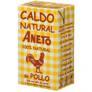 ANETO CHICKEN BROTH 100% NATURAL