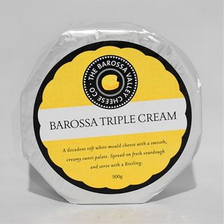 BAROSSA TRIPLE CREAM CHEESE 500GM