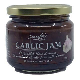GARLIC SPOONFED FOODS  JAM 375GM