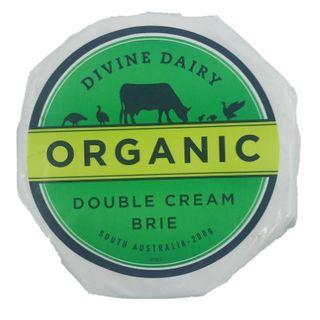 DIVINE DAIRY ORGANIC D/CREAM BRIE 200GM