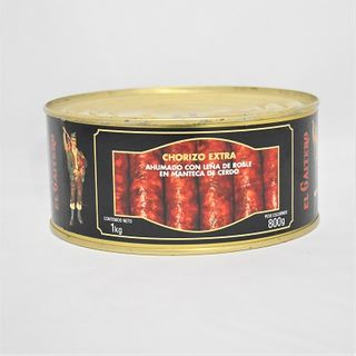 CHORIZO EXT CURED SAUSAGE PORK LARD 1KG