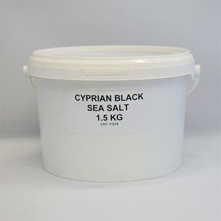 BLACK SALT 1.5KG LA BOQUERIA