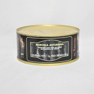 ASTURIAN MORCILLA BLACK PUDDING 1KG TIN