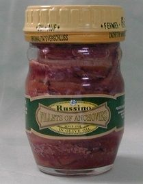 ANCHOVIE FILLETS JARS 80GR RUSSINO