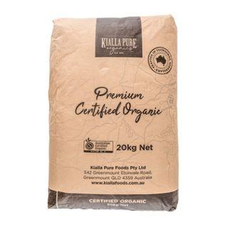 Organic Bread Pizza Flour 20Kg Kialla