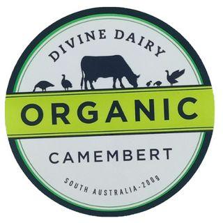 Divine Dairy Organic Camembert 200Gm