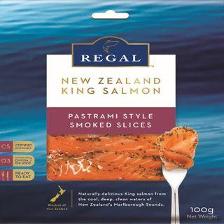 Ks Regal Cold Smk Salmon Pastrami 100G