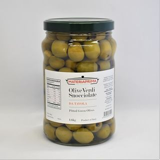 GREEN PITTED OLIVE 1.6KG