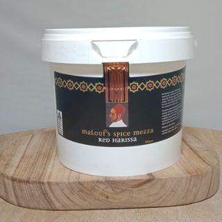 Red Harissa Paste 1Kg Gre Malouf