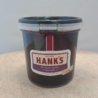 HANKS TRIPLE BERRY JAM 1.2KG