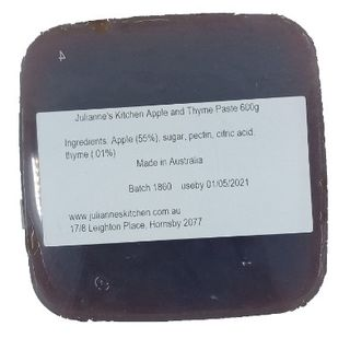 JULIANNE APPLE AND THYME PASTE 600GM