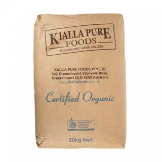ORGANIC BAKERS FLR 20KG KIALLA-WHEAT GRN