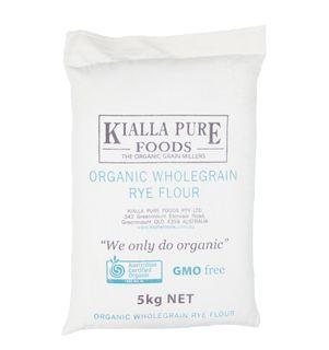 Kialla Organic Rye Flour 20Kg