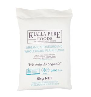 KIALLA ORGANIC WHOLEGRAIN PLAIN 5KG