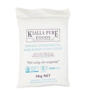 Kialla Organic Wholegrain Plain 5Kg