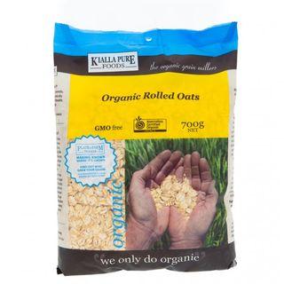 Organic Rolled Oats 1Kg Kialla Pure
