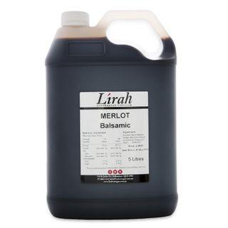 Lirah Merlot Balsamic Vinegar 5L