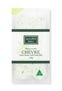 GOAT DILL CHEVRE 150GM MEREDITH DAIRY