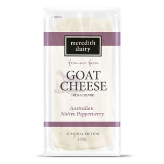 GOATS PEPPERBERRY CHEVRE 150G MEREDITH