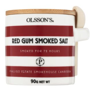 RED GUM SMOKED SALT CANISTER 90G OLSSONS
