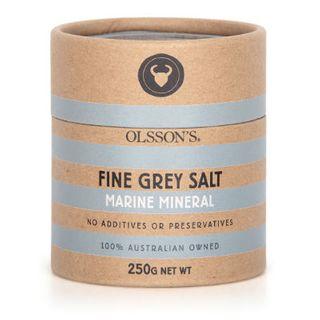 MARINE MINERAL GREY SALT 250GM OLSSONS