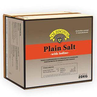 OLSSONS IODISED FINE SALT 20KG