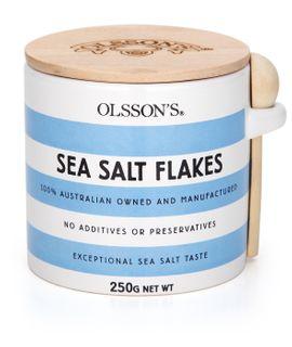 BOX SALT FLAKES 250GM OLSSONS