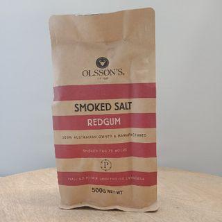 OLSSON SMOKED SALT 500GM FOOD SERVICE