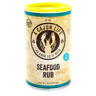 SEAFOOD RUB 227G CAJUN LIFE