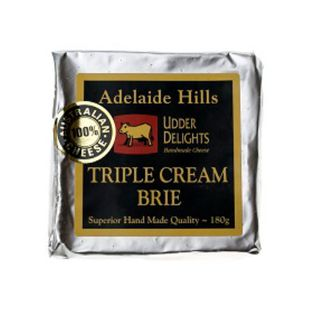 ADELAIDE HILL TRIPLE BRIE CHEESE 180GM