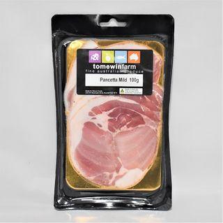 Pancetta Mild Sliced 100G Tomewin Farms