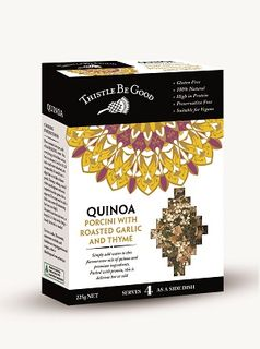 THISTLE BE GOOD PORCINI QUINOA 225G