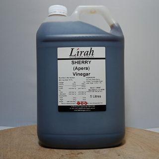 LIRAH SHERRY VINEGAR 5L