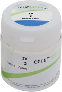 Cm Zr Incisal Value 2 Iv2