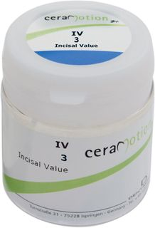 Cm Zr Incisal Value 3 Iv3