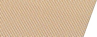 Wire Mesh Gold Plated Coarse 1