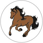 Decal Horse