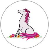 Decal Pink Pony