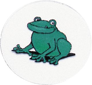 Decal Frog