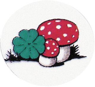 Decal Mushrooms