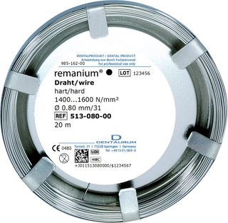 remanium Wire Hard 08 Mm L