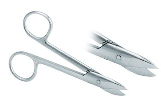 Crown Scissors Curved