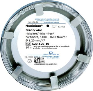 Noninium Wire Hard  1.20 Mm/4