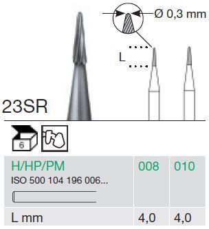 Busch HP T/Carbide Tapered 23SR