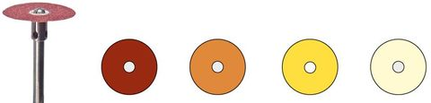 Busch Soft Disc Polishing Discs - 1.4cm