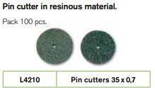 Major Pin Cutting Discs 35 x 07