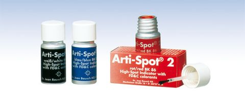 BK 87 Bausch Arti-Spot Brush Application Blue