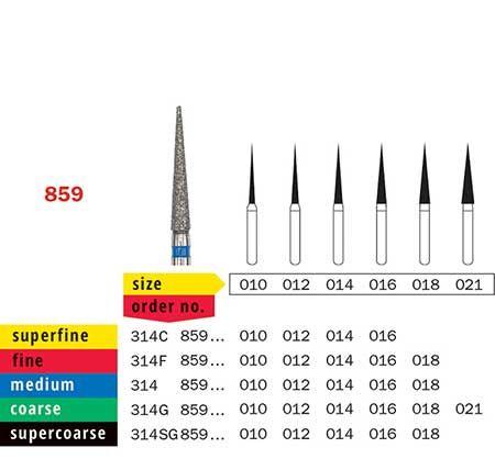 Diaswiss FG Needle Diamond