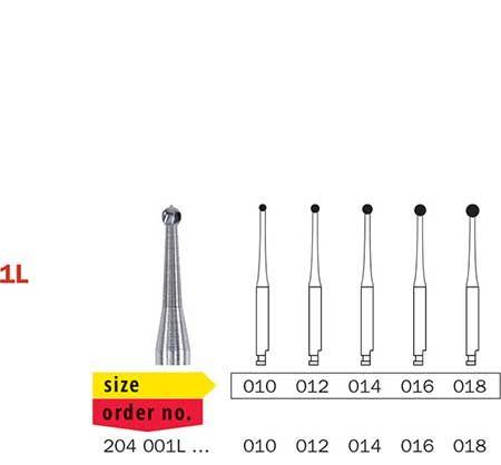 Diaswiss RA Long Neck Tungsten Carbide Round